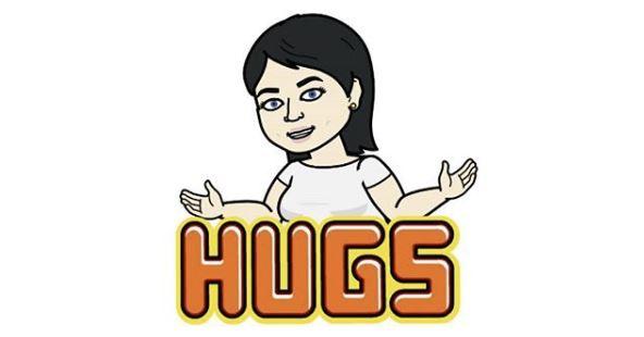 Hugs Bitmoji