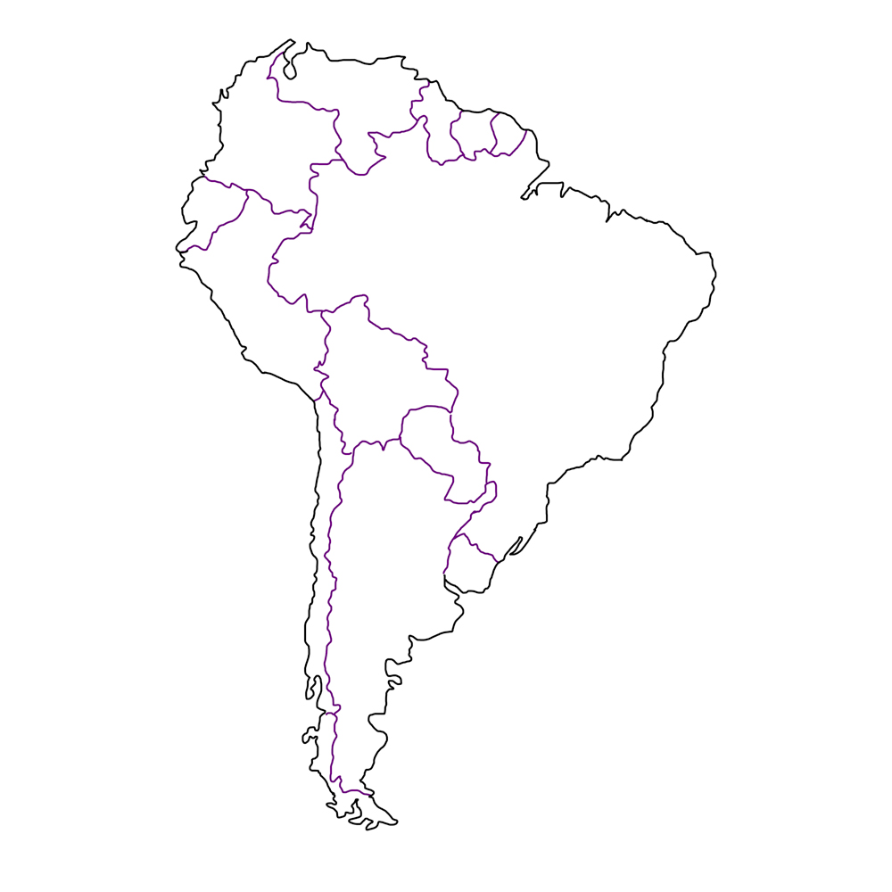 South America Map
